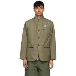 Engineered Garments Khaki K-Way Edition Packable Blase 3.0 Blazer K41114W X7Q