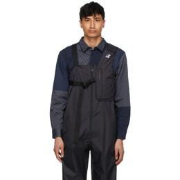 Engineered Garments Black K-Way Edition Kayden 3.0 Vest Bag K1121BW USY