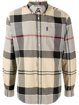 Barbour клетчатая рубашка с длинными рукавами MSH4713TN31