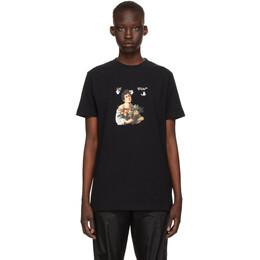 Off-White Black Caravaggio Boy T-Shirt OMAA027S21JER0111001