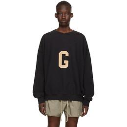 Fear Of God Black G Sweatshirt FG50-054FLC