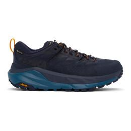 Hoka One One Navy Gore-Tex® Kaha Low Sneakers 1118587-BIMBL