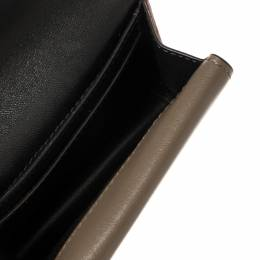 Mulberry Tri Color Leather Multiflap Card Case 425603