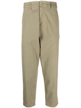 Haikure укороченные брюки чинос с низким шаговым швом HEM03152GS189PXS20