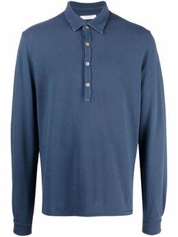 Boglioli рубашка поло с длинными рукавами 91408BRC709