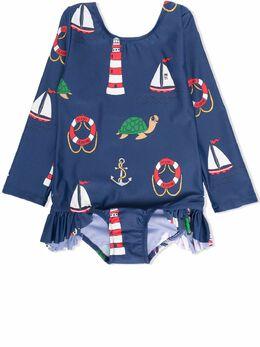 Mini Rodini солнцезащитный костюм для плавания 2168011167