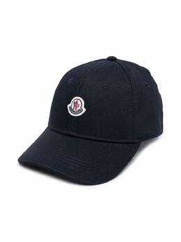 Moncler Enfant кепка с аппликацией логотипа 3B100004863