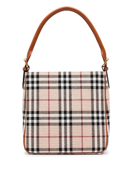 Burberry Pre-Owned сумка в клетку House Check OS4055BF54