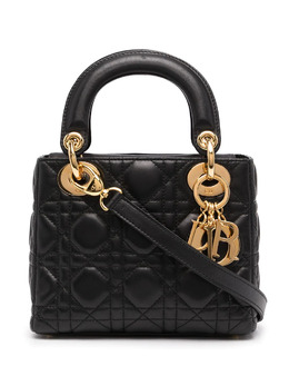 Christian Dior мини-сумка Lady Dior Cannage pre-owned MA0060