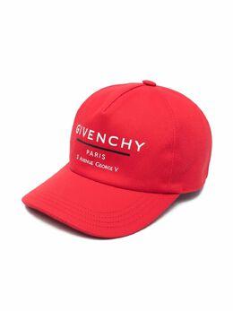 Givenchy Kids бейсболка с логотипом H21043