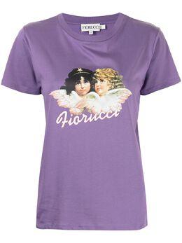Fiorucci футболка Vintage Angels с графичным принтом W09VAN1CPR