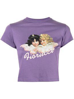 Fiorucci футболка Vintage Angels с графичным принтом W09BAN1CPR