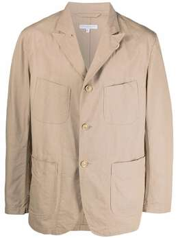 Engineered Garments однобортный пиджак Bedford 21S1D005