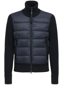 Куртка Из Нейлона И Шерстяного Трикотажа Tom Ford 74IY1B048-QjE50