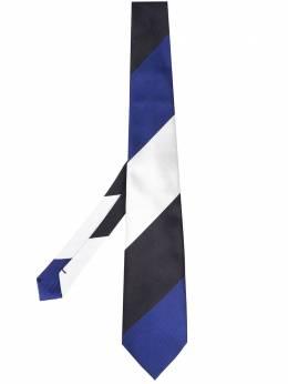 Comme Des Garcons Homme Deux галстук в диагональную полоску DGK406051