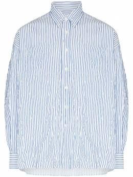 Our Legacy полосатая рубашка Borrowed BD с жатым эффектом M2212BWB
