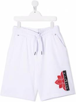 John Richmond Junior спортивные шорты с логотипом RBP21116BE