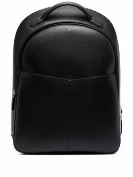 Montblanc фактурный рюкзак с логотипом 128549