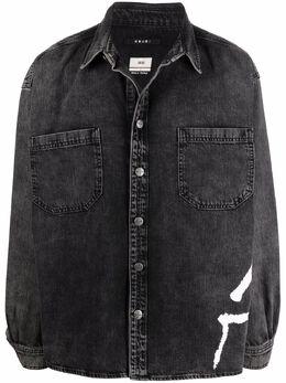 Ksubi джинсовая рубашка с логотипом 5000005525