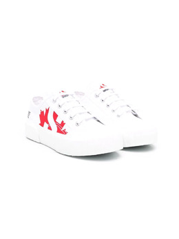Dsquared2 Kids кеды с логотипом Maple Leaf S71188W
