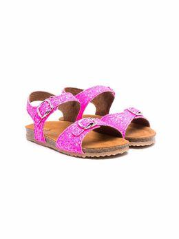 Pepe сандалии с блестками BK1