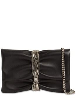 Soft Nappa Leather Bracelet Clutch Jimmy Choo 74IG33003-QkxBQ0s1