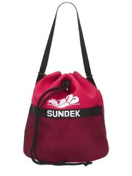 Рюкзак Из Неопрена С Принтом Sundek 73IDOE015-Njky0