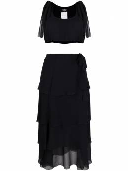 Chanel Pre-Owned 1994 crop top and skirt set CHLL1350