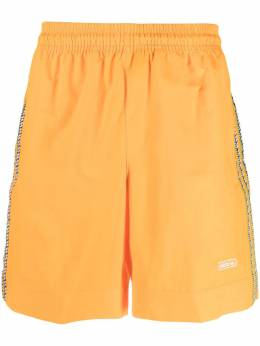 Adidas embroidered-logo taped shorts GN3899