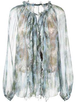 Jason Wu Collection блузка с оборками S2102010A