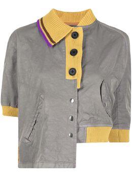 Kolor рубашка поло асимметричного кроя 21SCLG01104