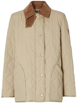 Куртка Из Нейлона Burberry 74I040037-QTEzNjY1