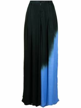Y's gradient-effect wide-leg trousers YDP01209