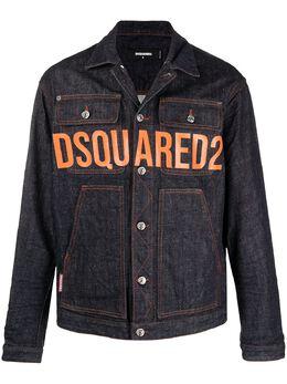 Dsquared2 джинсовая куртка с логотипом S74AM1170S30485