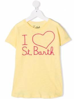 Mc2 Saint Barth Kids футболка с логотипом EMMA