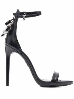 Dsquared2 padlock-detail open-toe sandals HSW017801500001