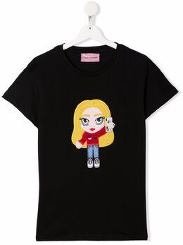 Chiara Ferragni Kids футболка CF Mascotte CFKT033B