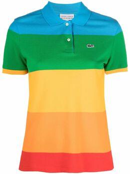 Lacoste полосатая рубашка поло с логотипом PF2822