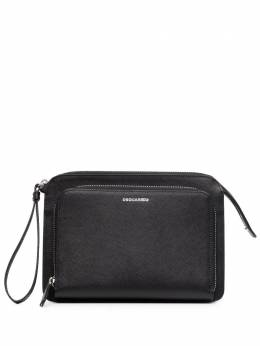 Dsquared2 multi-compartment clutch bag CLM000501501209