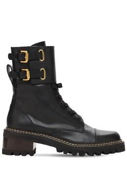 Кожаные Ботинки Mallory 40мм See By Chloe 74IL4L001-OTk50