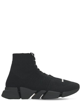 Speed 2.0 Knit Lace-up Sneakers Balenciaga 73IROW033-MTAxMw2
