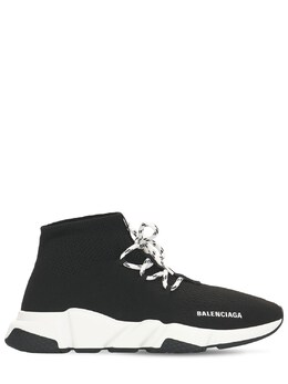 Speed Lace-up Tech Sneakers Balenciaga 73IROW028-MTAxNQ2