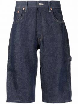Junya Watanabe Man шорты-бермуды со вставками WGP033051
