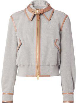 Burberry куртка с контрастной отделкой 8039269