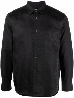 Comme Des Garcons Homme Deux abstract-print long-sleeve shirt DGB043051