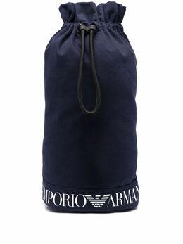 Emporio Armani рюкзак с кулиской и логотипом 2111951P801