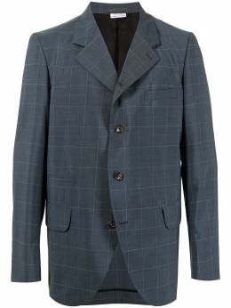 Comme Des Garcons Homme Deux windowpane single-breasted blazer DGJ041