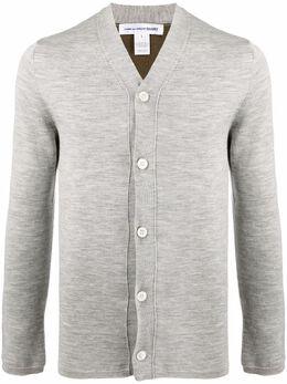 Comme Des Garcons Shirt V-neck buttoned cardigan FGN007
