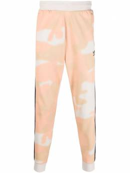 Adidas Camouflage-print sweat trousers GN1895