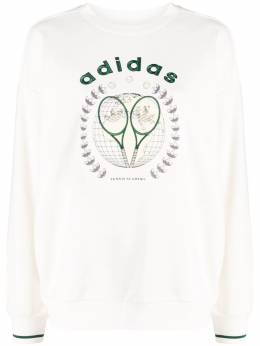 Adidas Tennis Luxe graphic sweater H56449